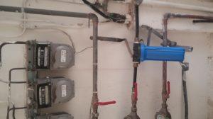 תיקון צנרת ולחץ מים בדירה